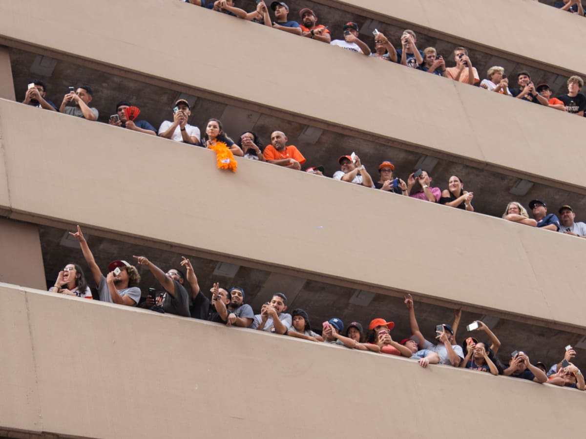 Astros World Series victory parade and rally
