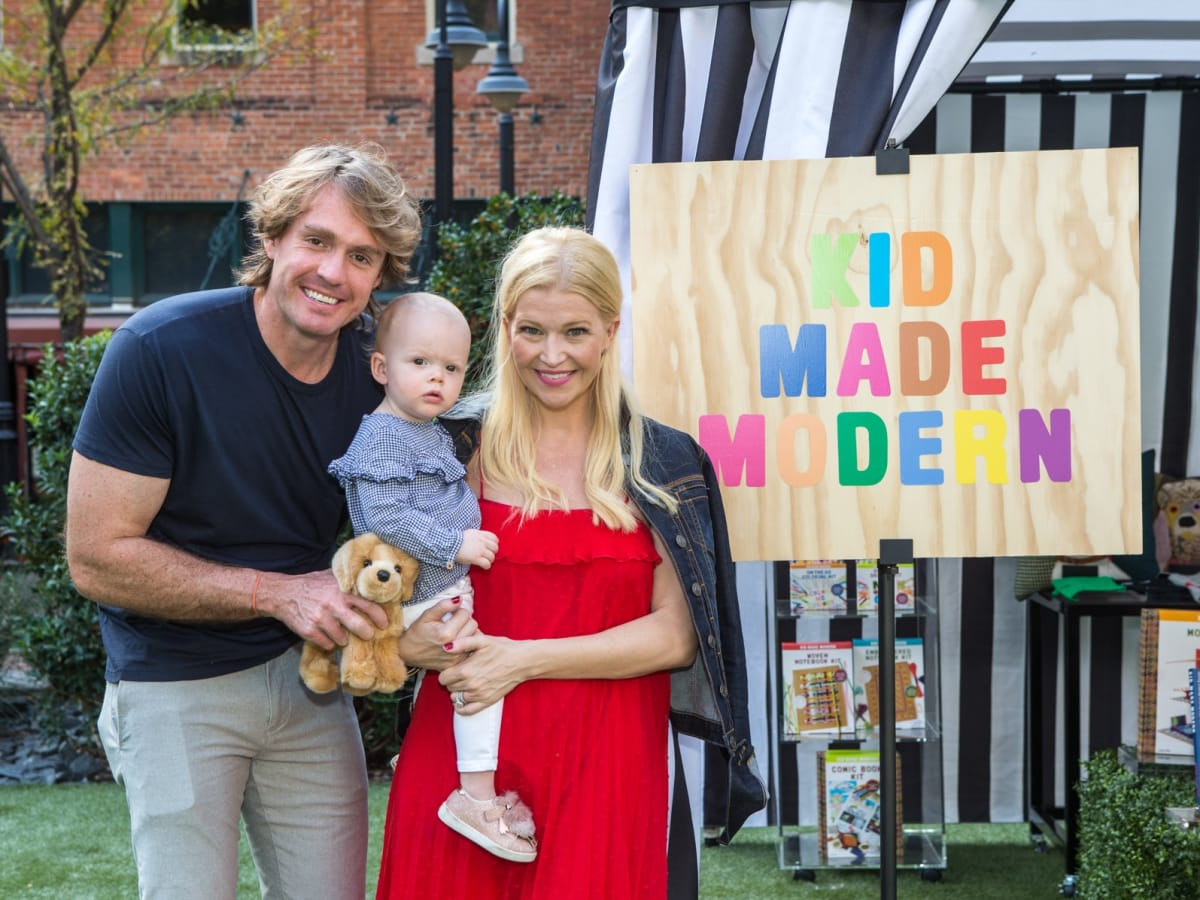 Tim, Missy and Eloise Peck, Puppies in the Park 2017