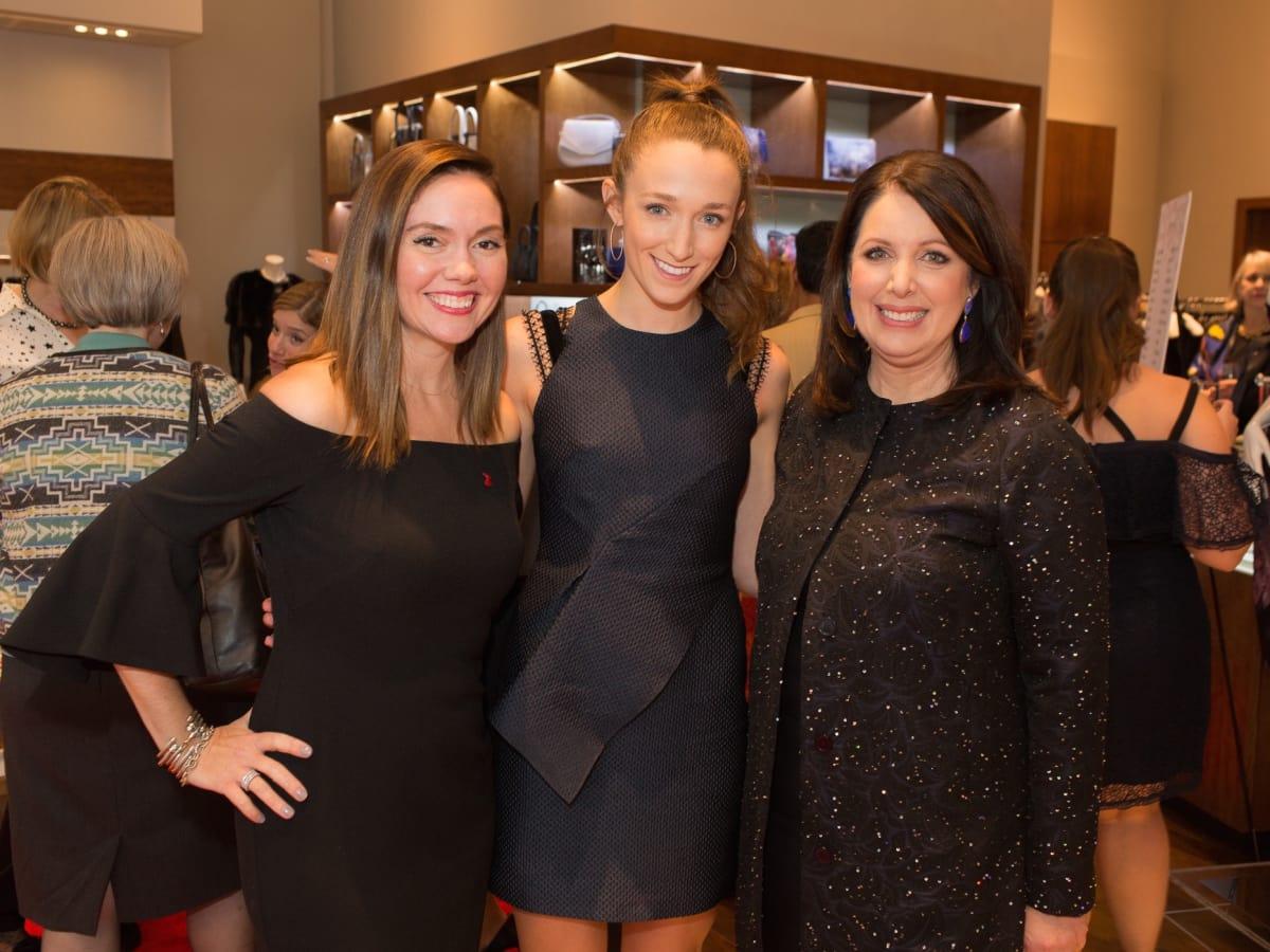 Britney McMillan, Jennifer Mohler, Julie Roberts at Circle of Red