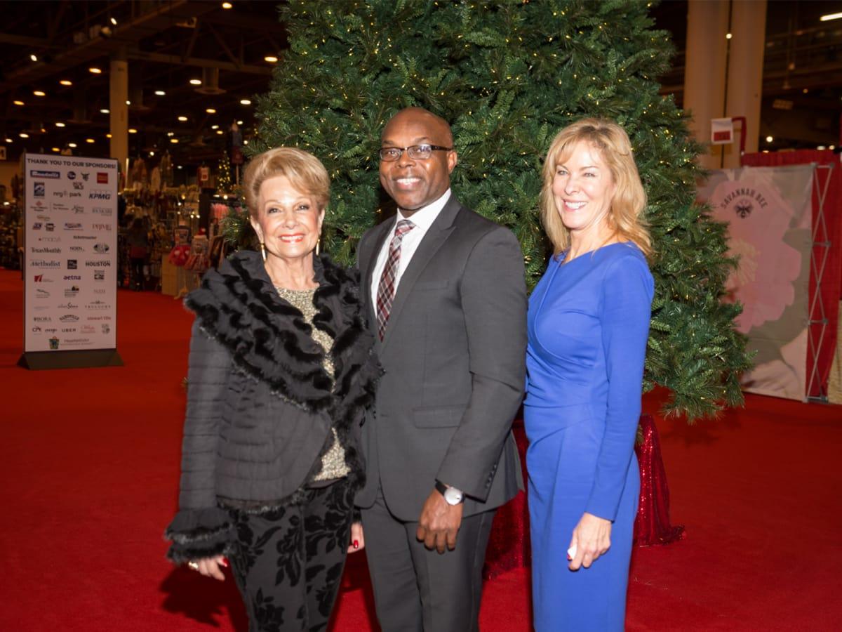 Philamena Baird, Darryl Montgomery, Patricia Green/Nutcracker preview party