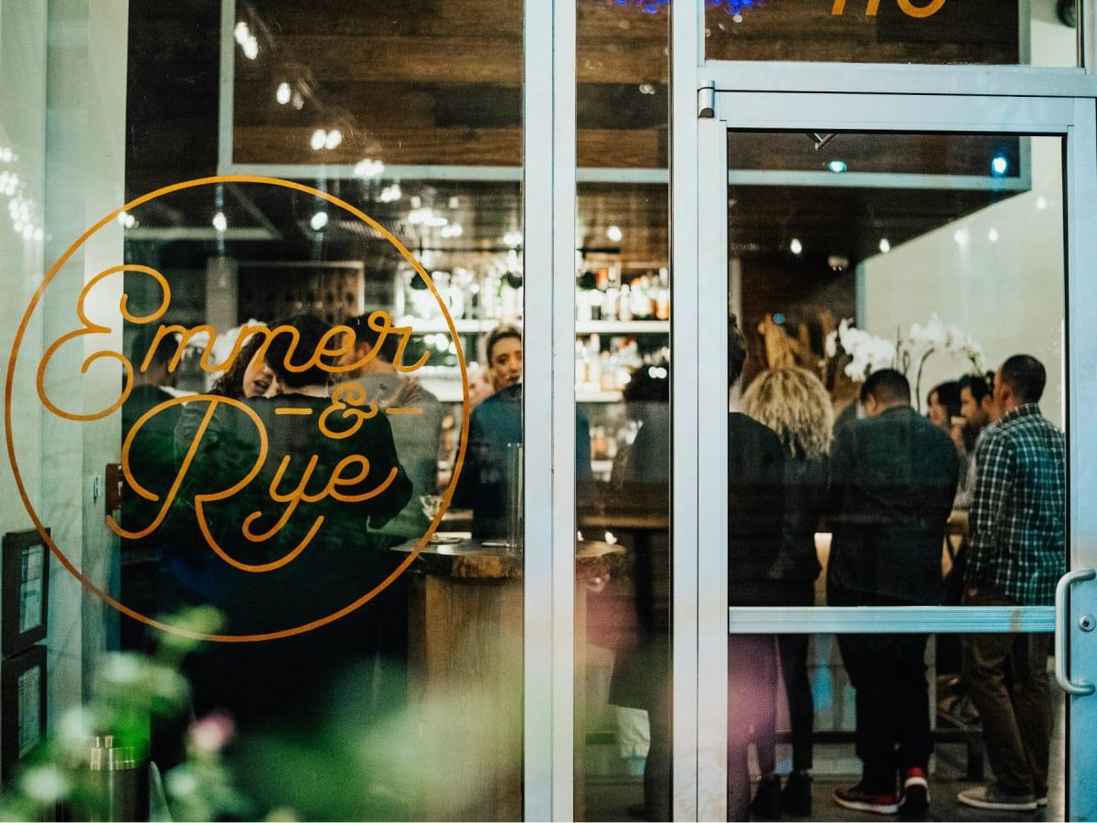 Emmer and Rye Hennessy Dinner