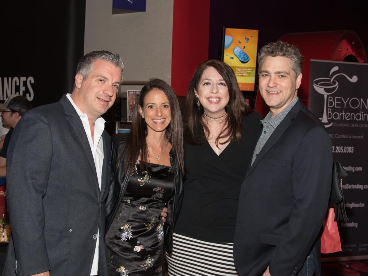 Steven Kleman, Robyn Kleman, Ann Byrd, Richard Byrd at Health Museum Steampunk gala