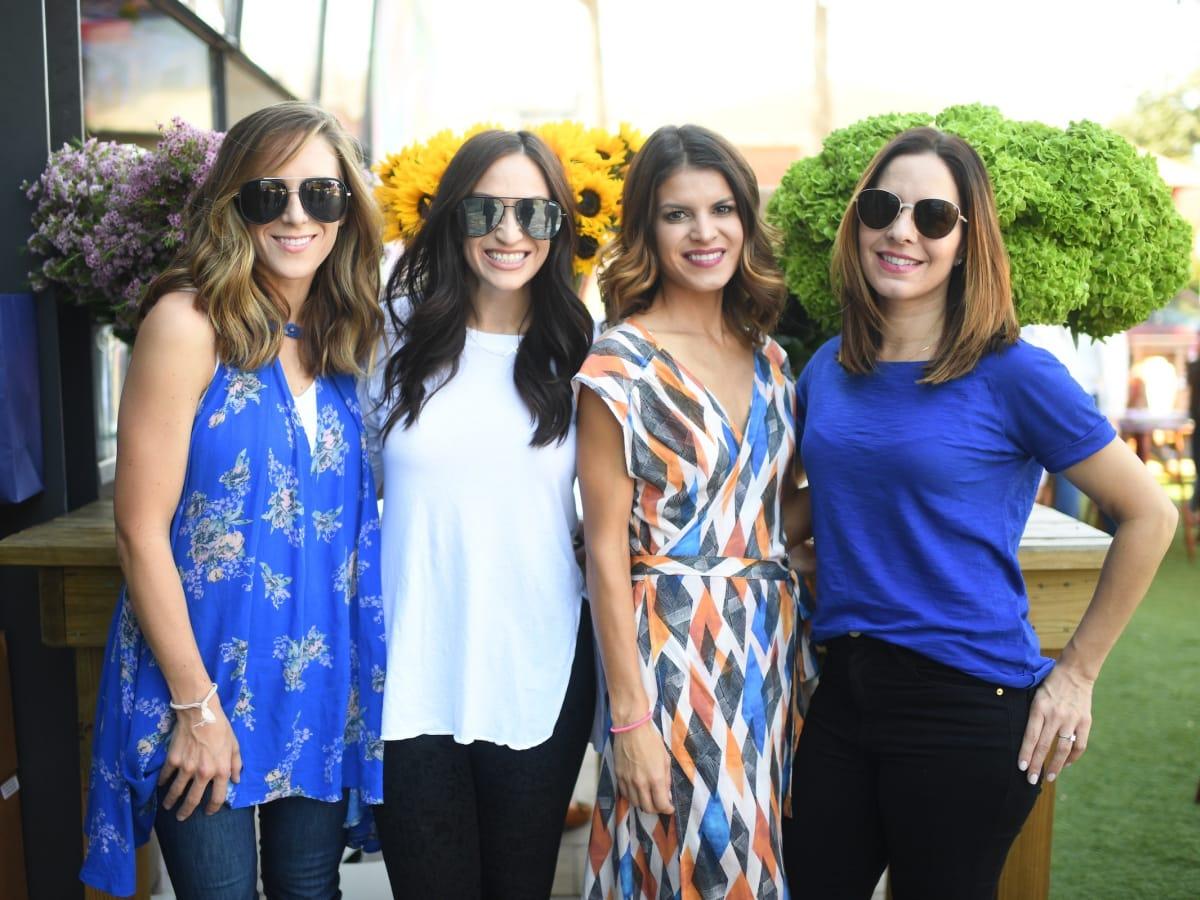 Ailee Petrovic, Brittany Williams, Monica Eskridge, Ivana Petrovic, More Color Please launch