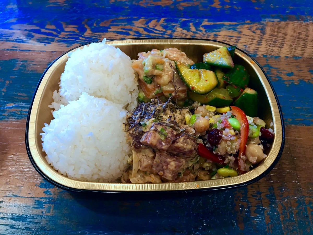 Laki Fish poke bowl
