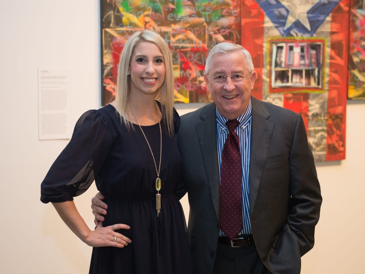 Houston, MFAH HOME Opening Dinner, November 2017, Rachel Jarka, Mark Troth