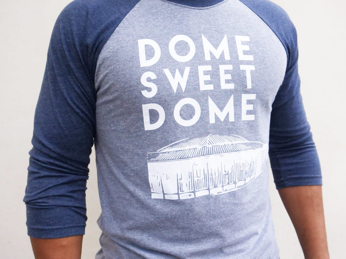 Anvil Dome Sweet Dome baseball T-shirt at LAUNCH pop-up shop