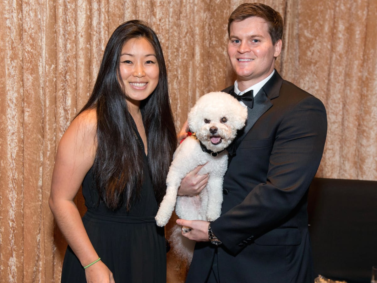 Ally Chiang, Chris Banket with Kirby/CAP Gala