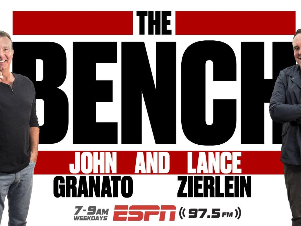 The Bench John Granato, Lance Zierlein ESPN97.5