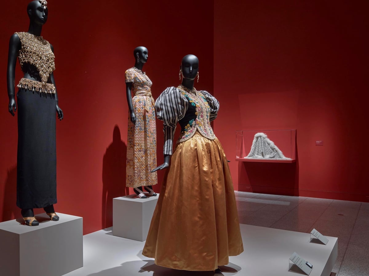 Oscar de la Renta MFAH Carolyn Farb gown