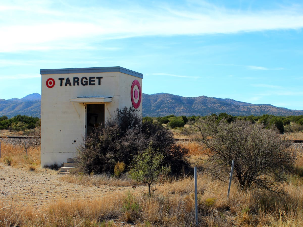 Marathon Target: a tongue-in-cheek response to Prada Marfa