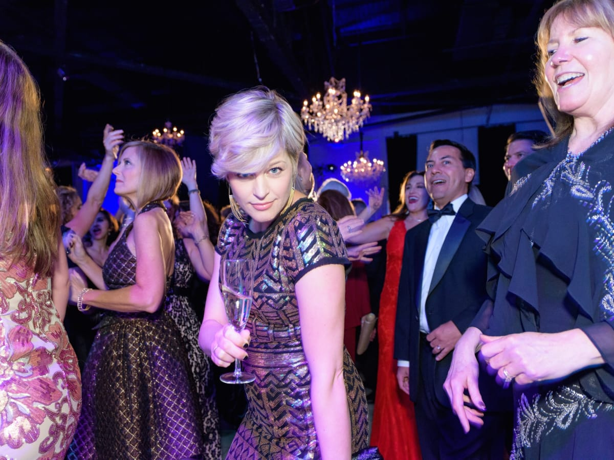 Liz Sorensen at Halo House Gala
