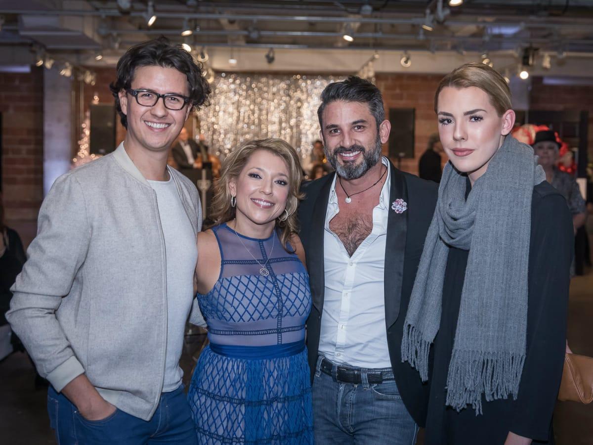 Cesar Aragon, Tricia Kanewske, Nestor Eduardo Estrada, Hunter Youngblood