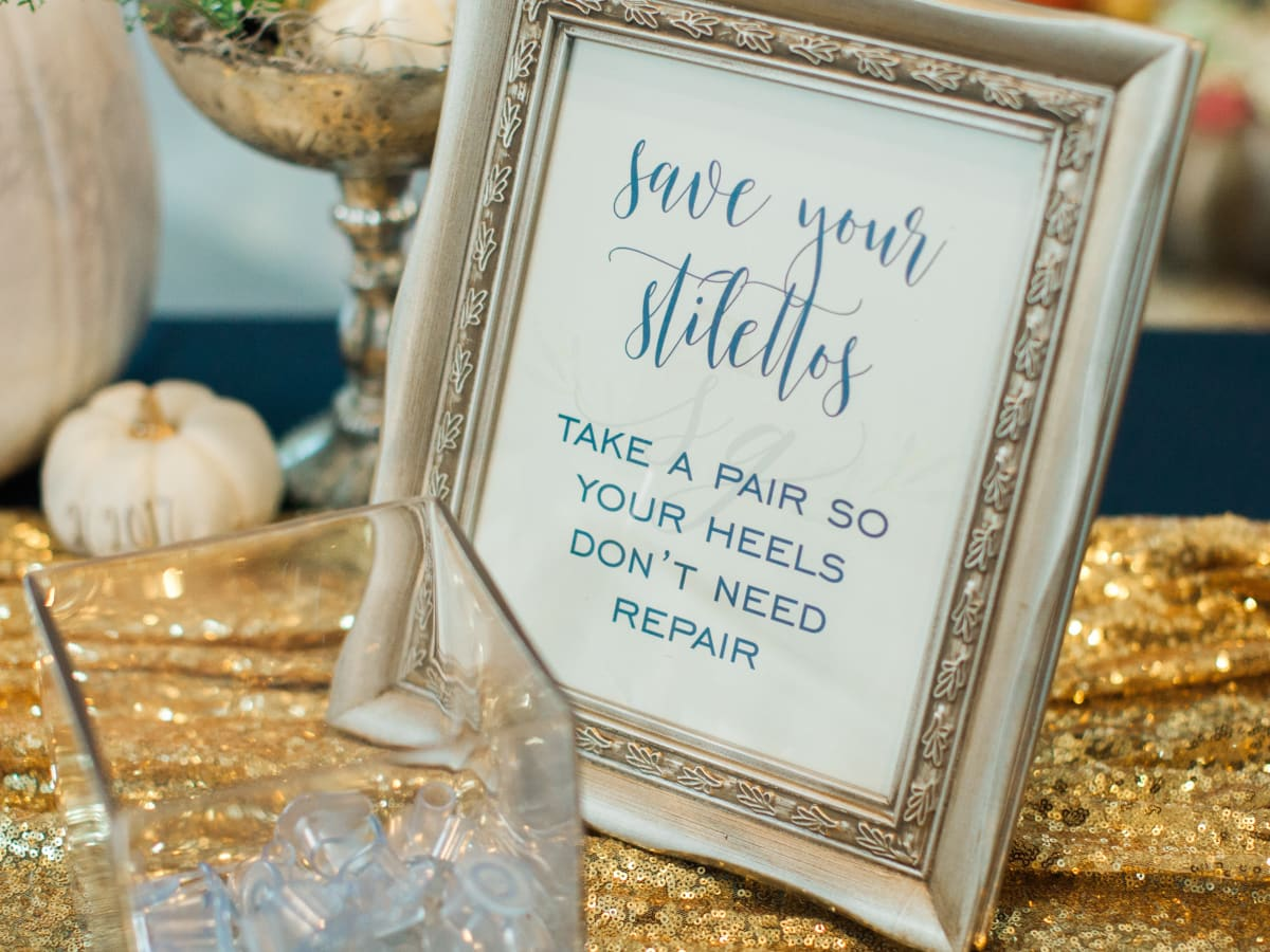 Charming Dallas wedding brims with pumpkins and personal touches ...