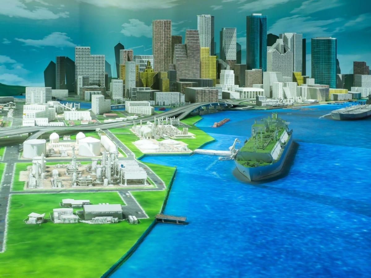 HMNS Wiess Energy Hall-Energy City day