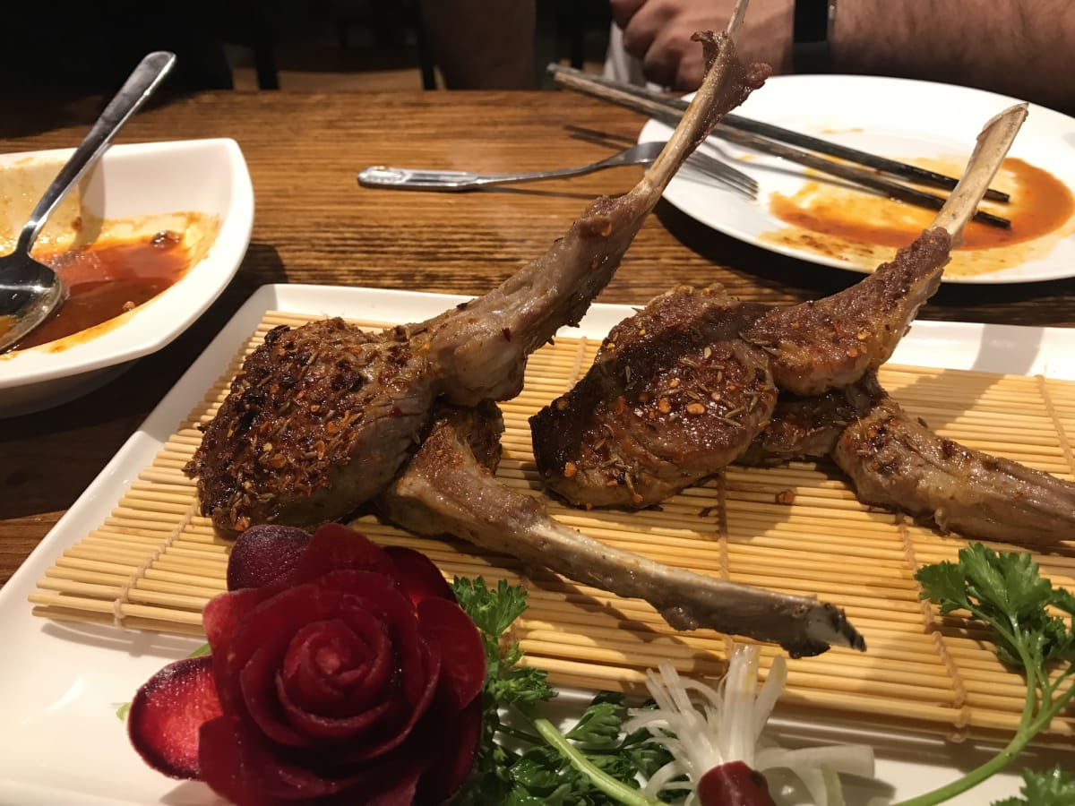 Spicy Girl Chinese lamb chops