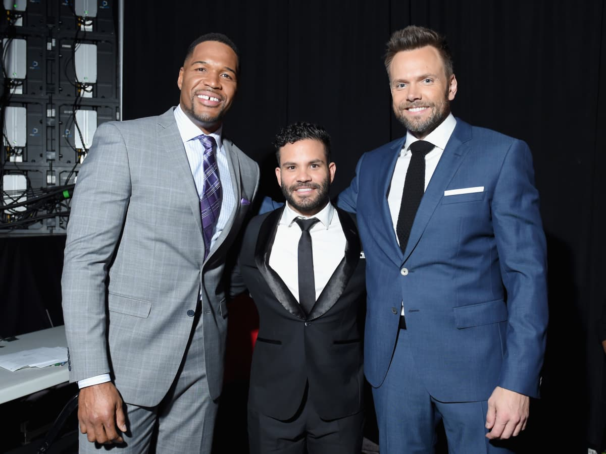 Michael Strahan Joe Altuve