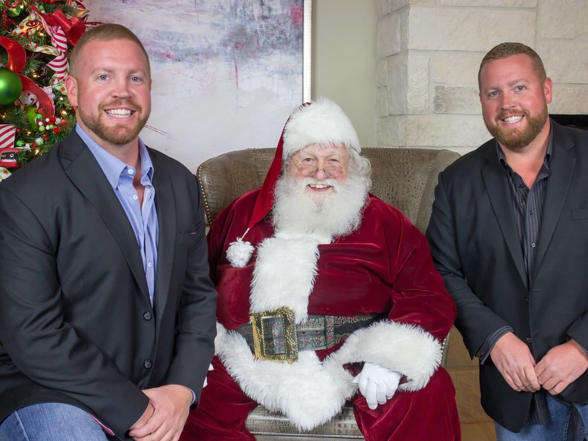 Matt Hollaway, Santa, Patrick Hollaway