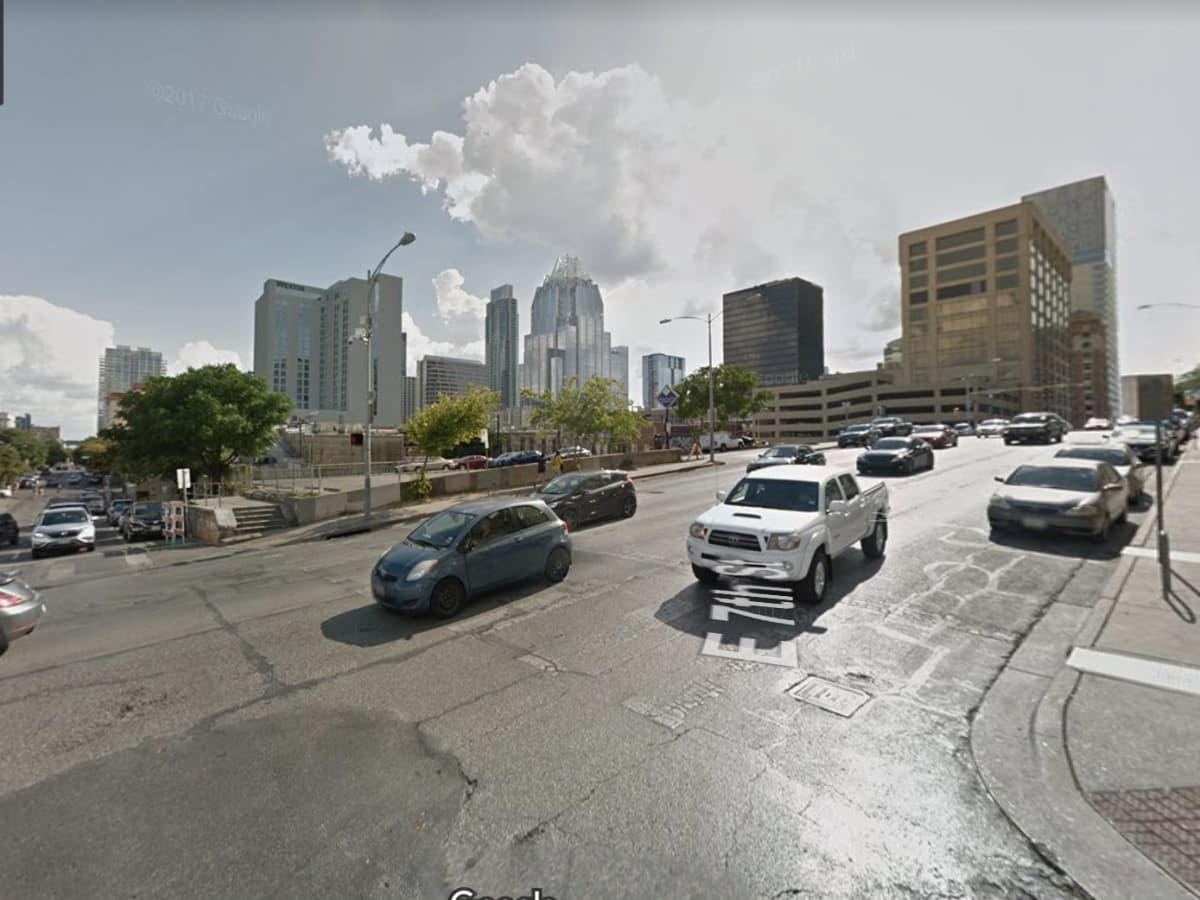 7th and trinity streets downtown austin