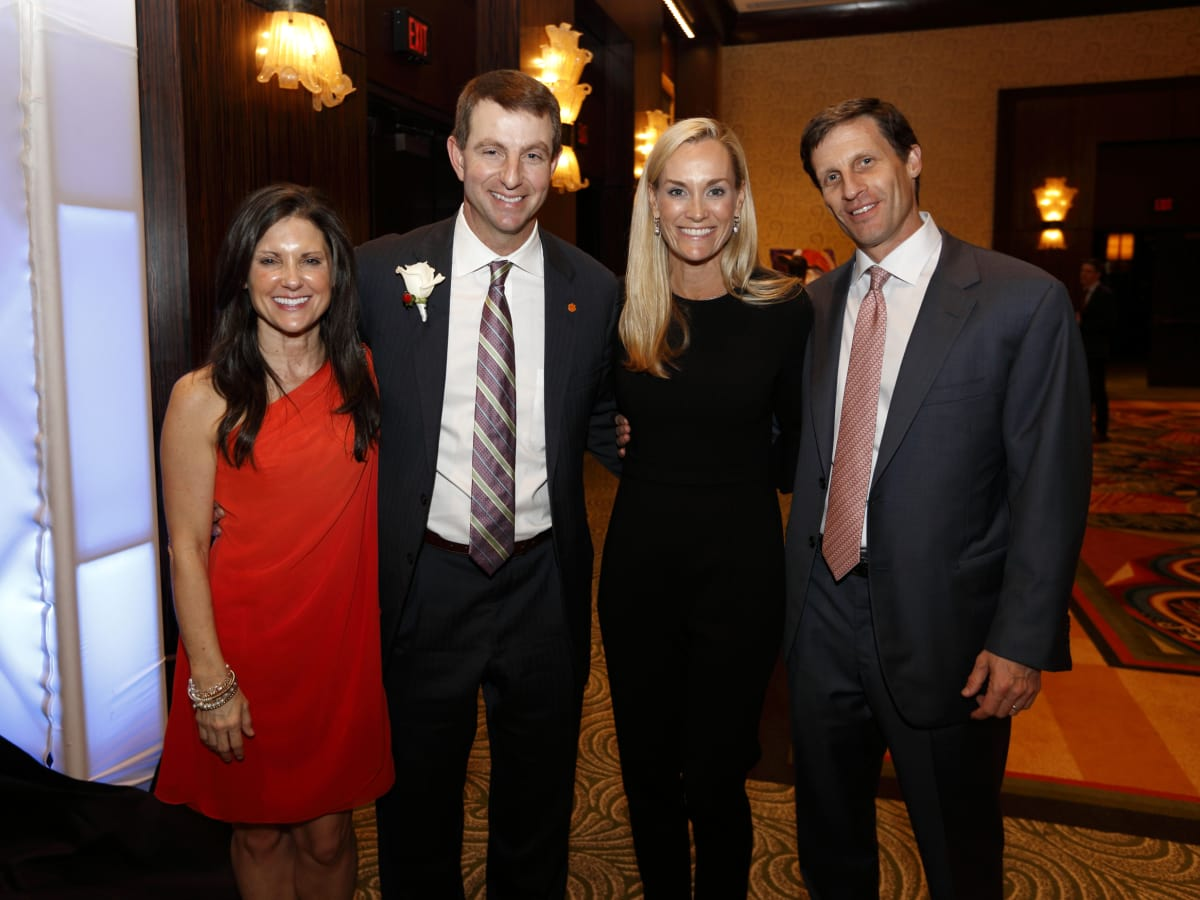 Houston, Bear Bryant Awards, January 2018, Kathleen Swinney, Dabo Swinney, Leigh Anne Raymond, John Raymond