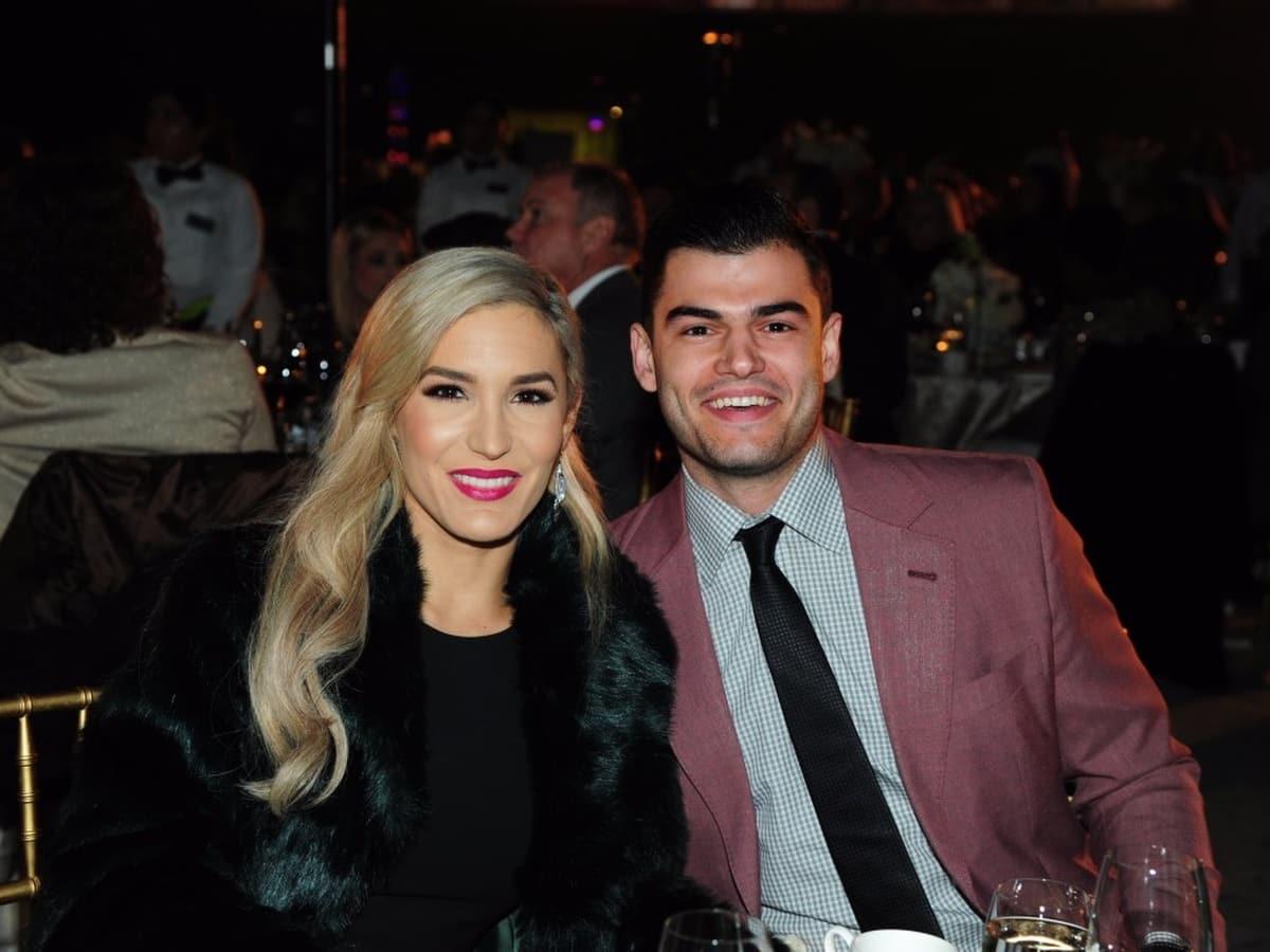 Houston, Diamond Dreams Astros Gala, January 2018, Kara McCullers, Lance McCullers Jr.