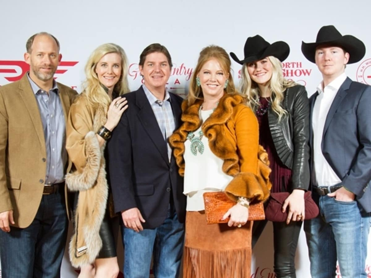 Fort Worth, JLH Grand Entry Gala, January 2018, Colin Bailey, Sonia Bailey, Philip Williamson, Jennifer Williamson, Talia Bailey, Philip Williamson, Jr.