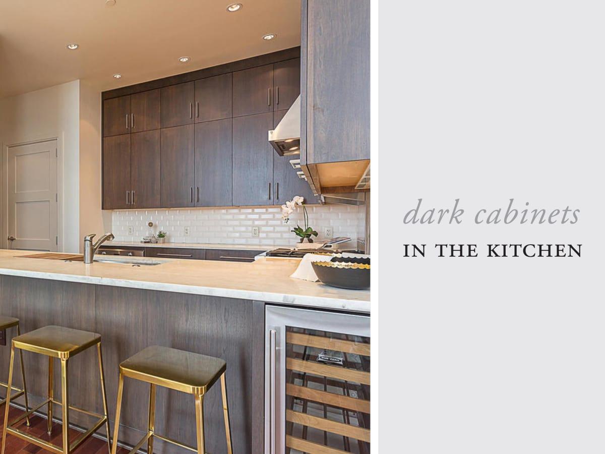 APRE home trends San Jacinto dark cabinets