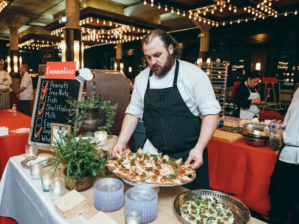 Houston, TCH Cooking Up A Cure, February 2018, Chef Dimitri Voutsinas of Emmaline