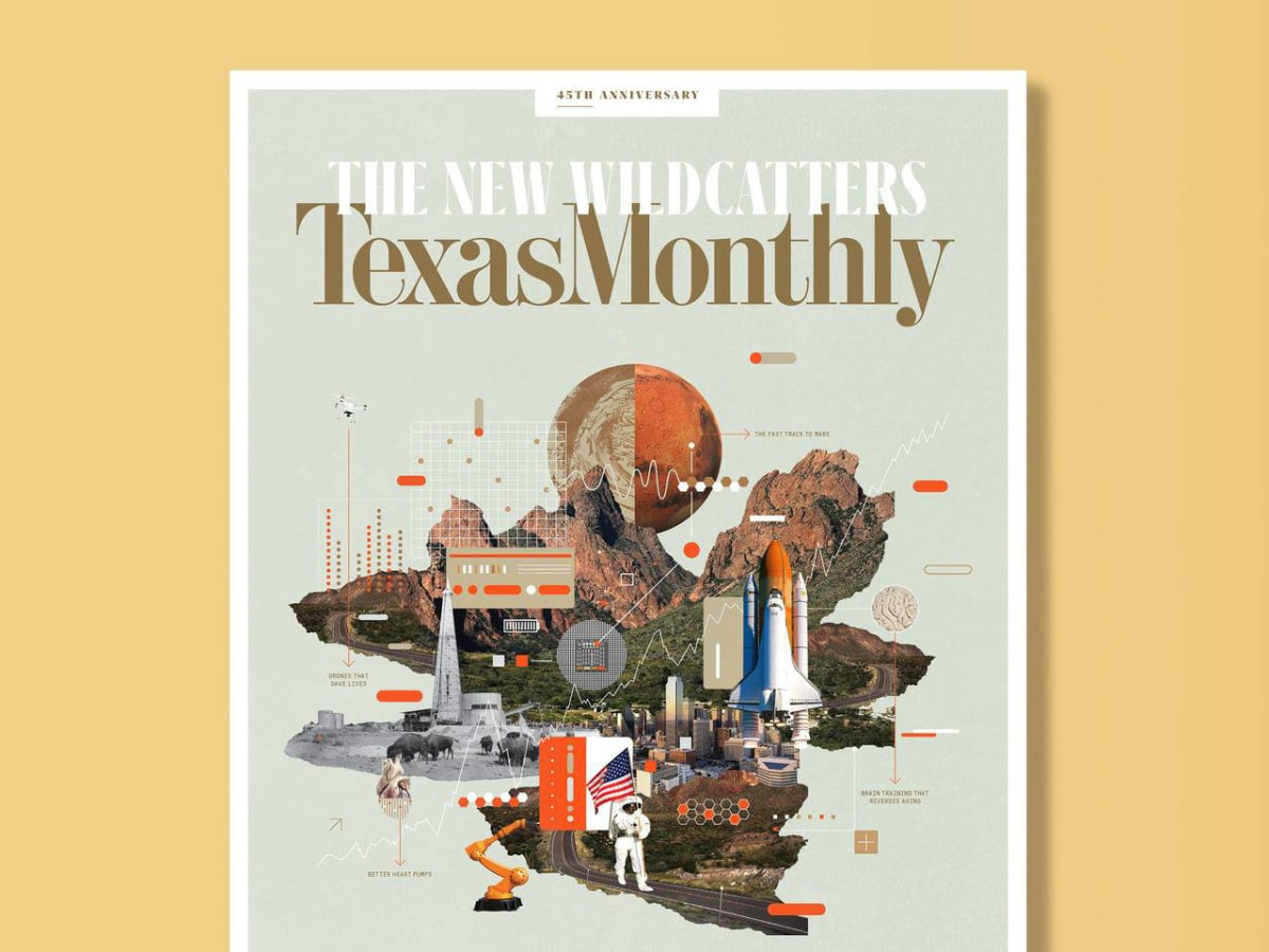 Texas Monthly Bumble Cover
