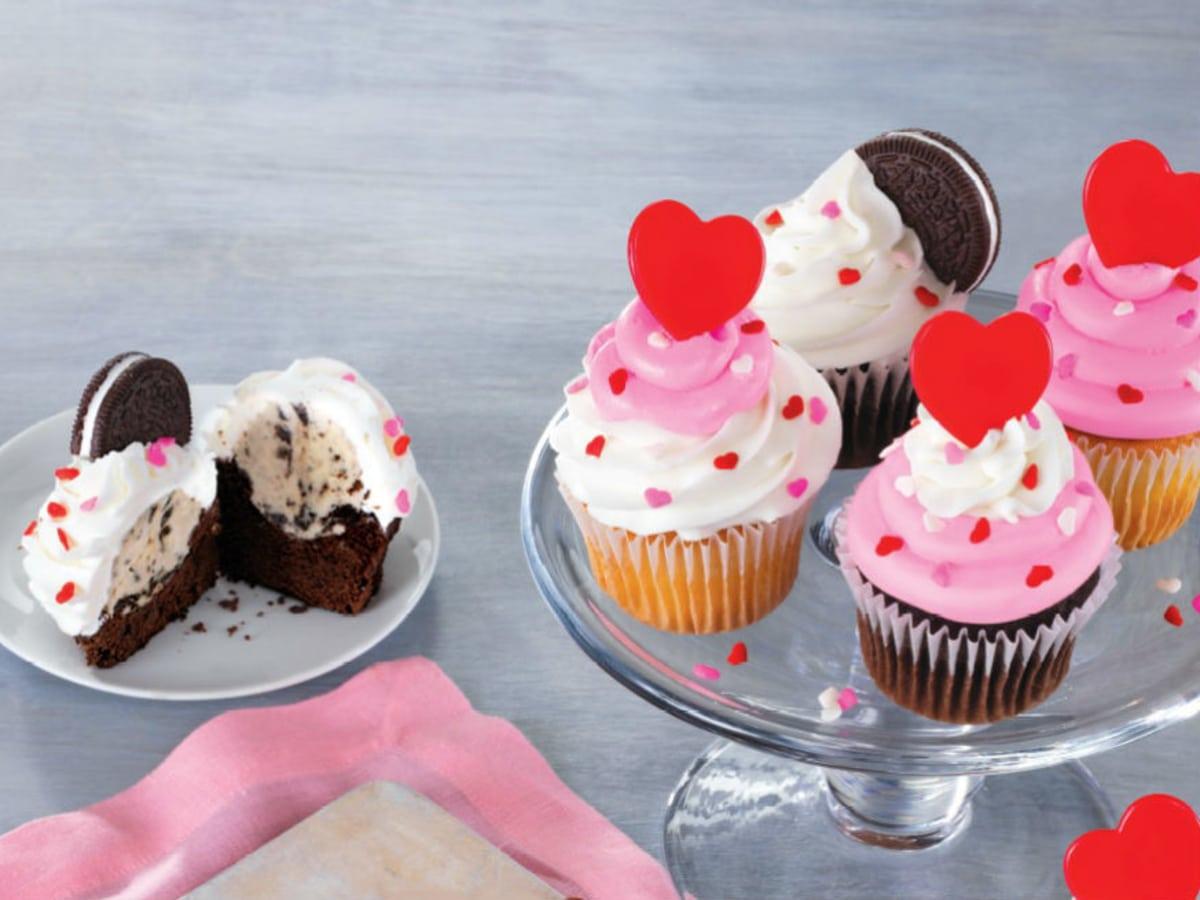 Baskin Robbins ice cream cupcakes