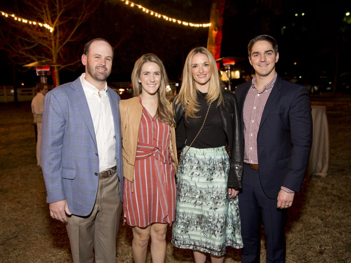 Houston, Memorial Park Conservancy Picnic for the Park, February 2018, Sam Tucker, Allison Darden, Cat Jones, Peter Jones