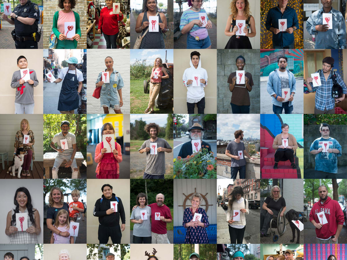 Mind the Heart Project: People and Hearts