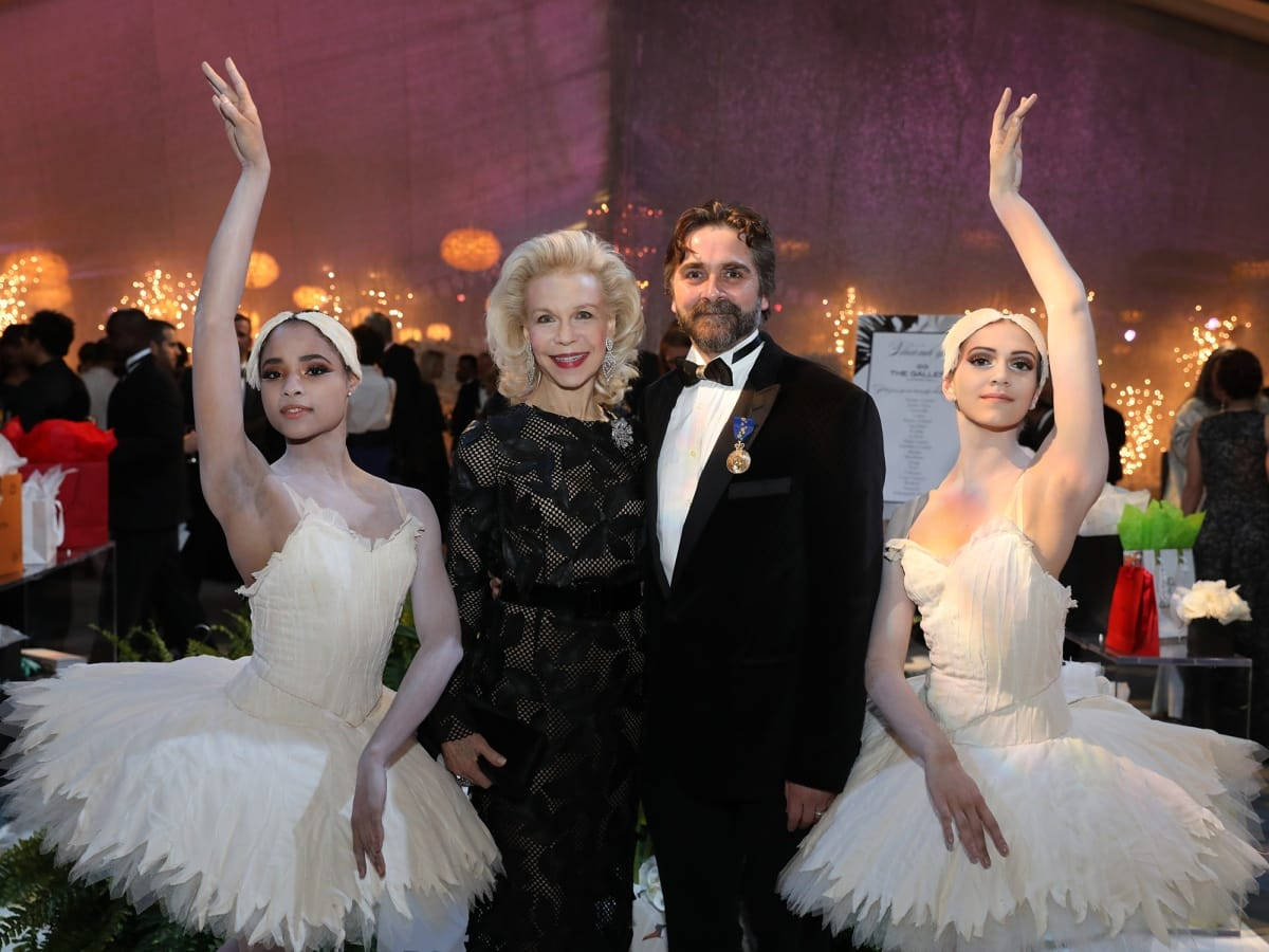 Houston, Ballet Ball, February 2018, Lynn Wyatt, Stanton Welch AM