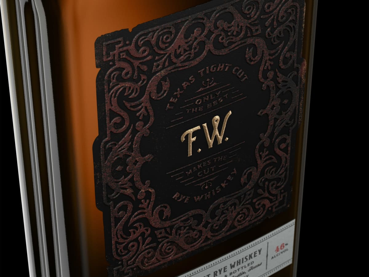 Fierce Whiskers label ATX