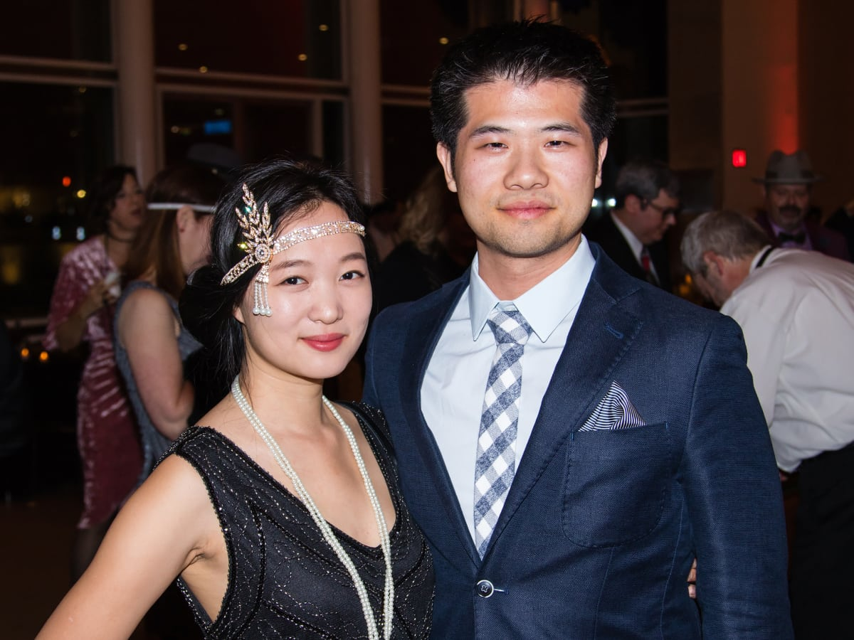 Louisa Liu, David Zhang