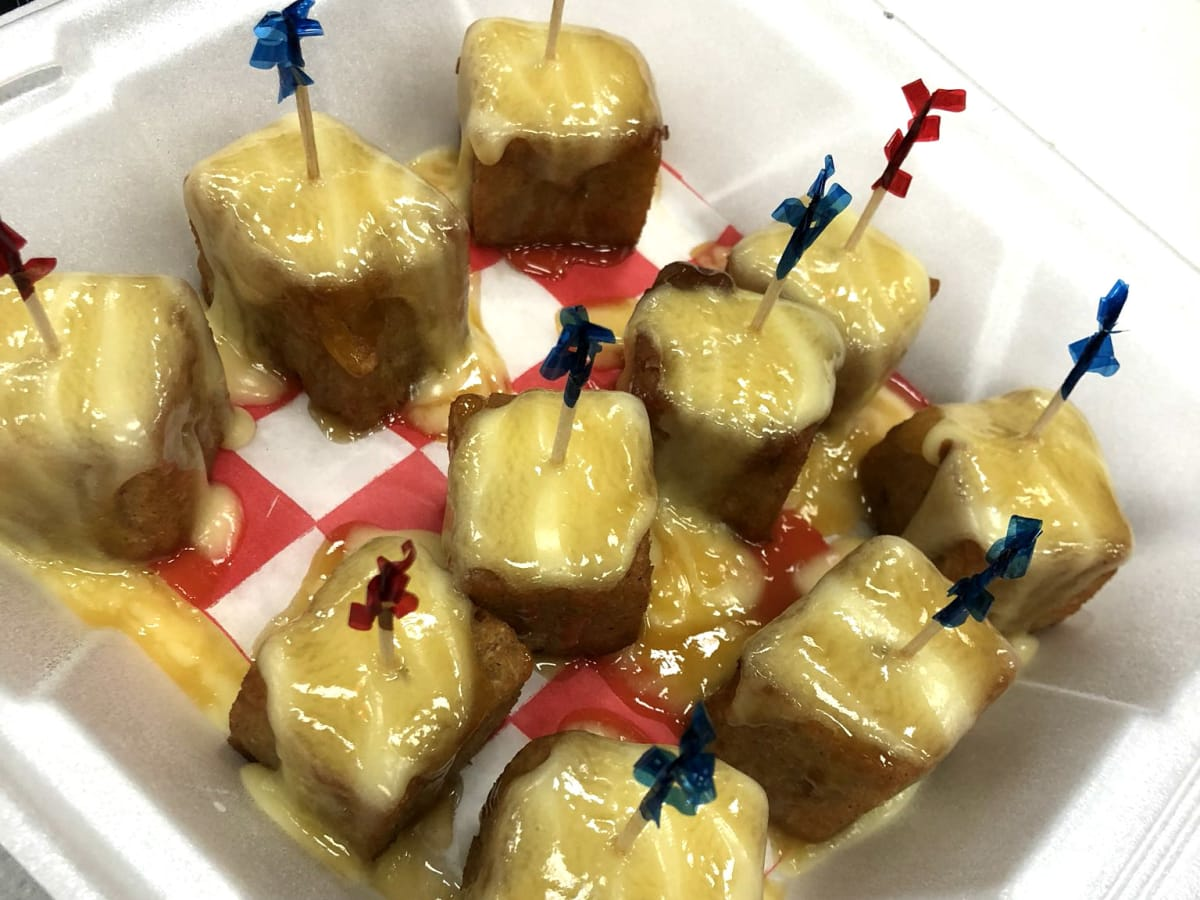 Houston -Gold Buckle Foodie Awards - bread pudding bites