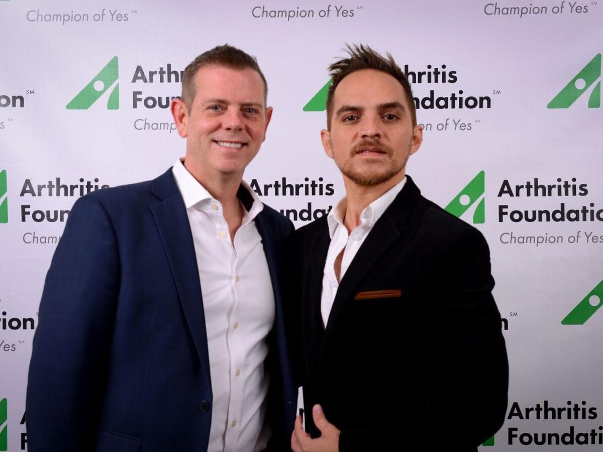 Scott Pharr and Omar Esparza, Arthritis Foundation Mardi Gras Ball