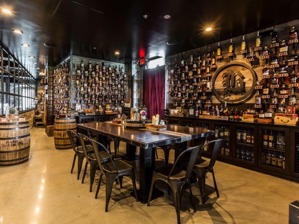Bosscat Kitchen whiskey room