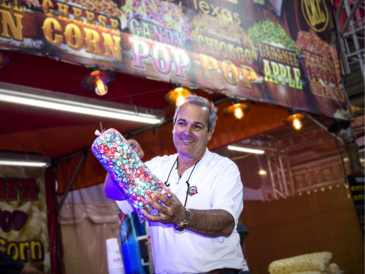 Rodeo Carnival Dominic Palmieri popcorn