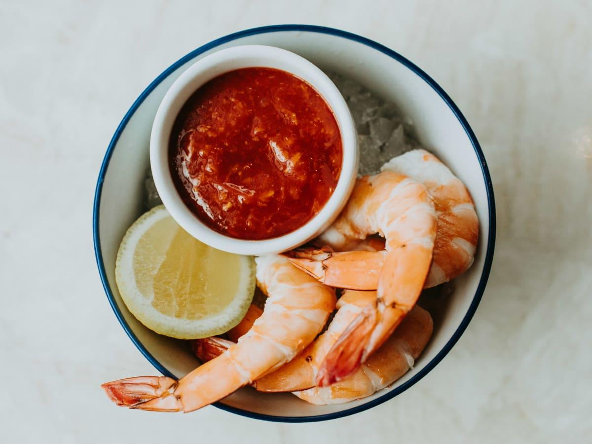 Fairmont Austin shrimp cocktail