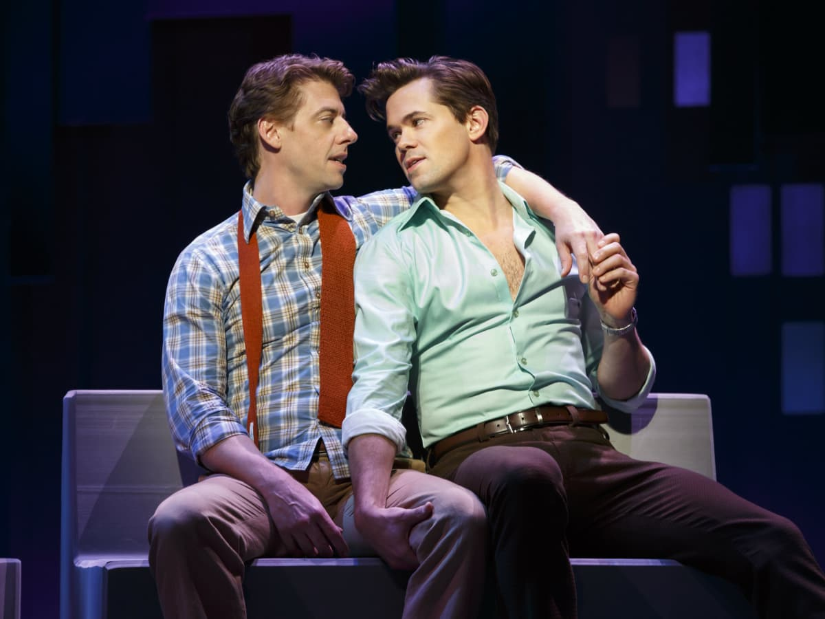 The Broadway cast of Falsettos
