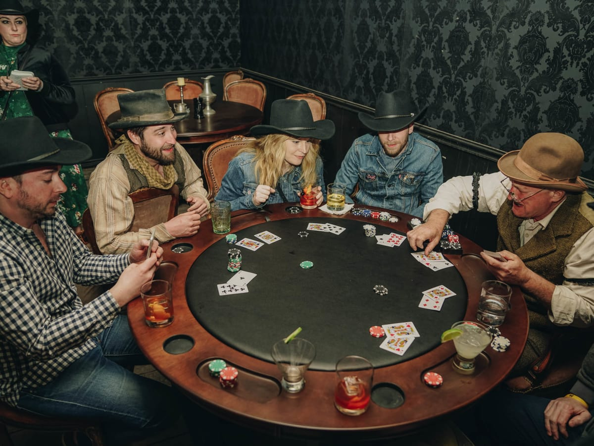 SXSW Westworld Experience Blackjack Game