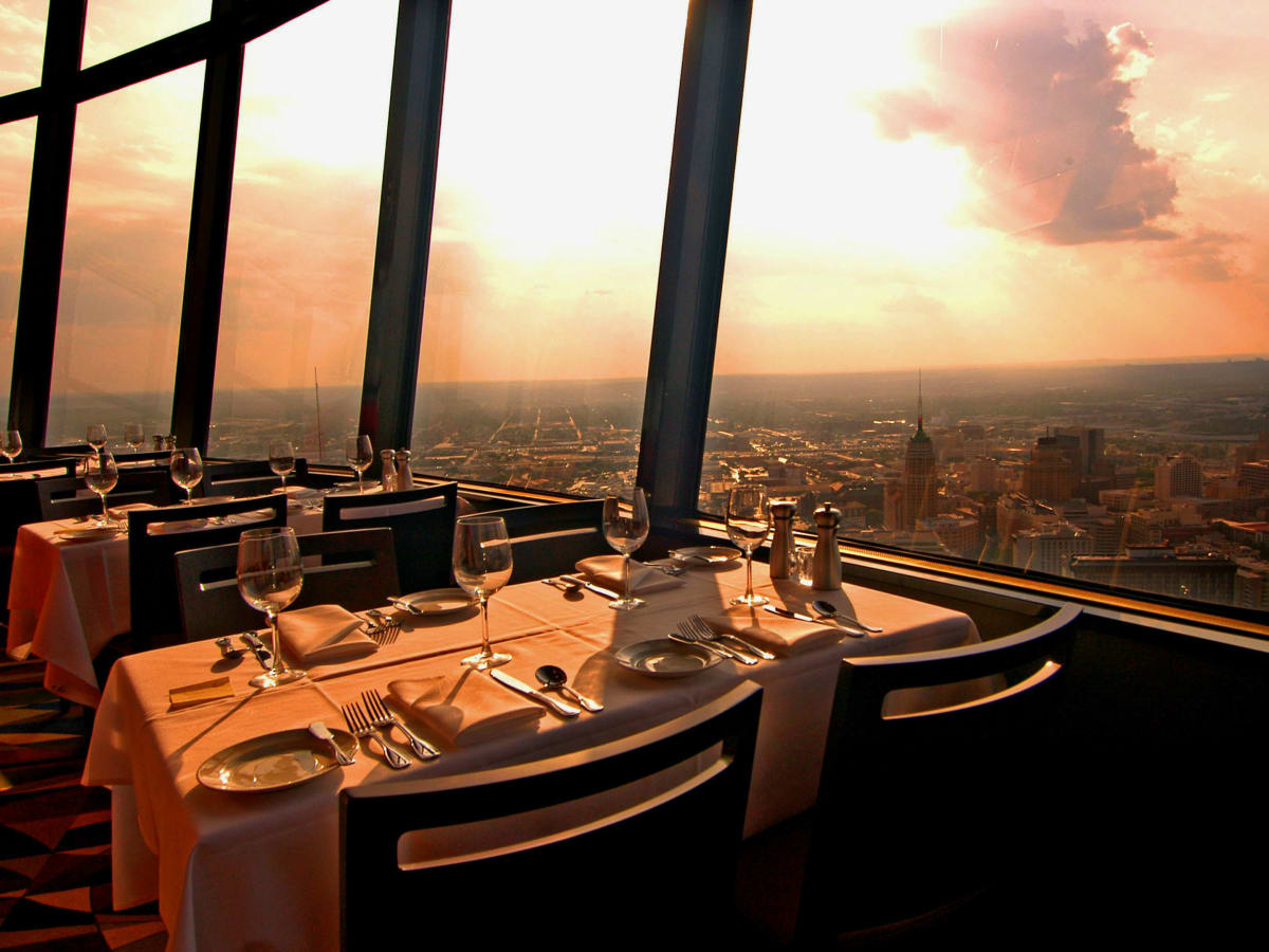 Tower of the Americas SA Chart House restaurant