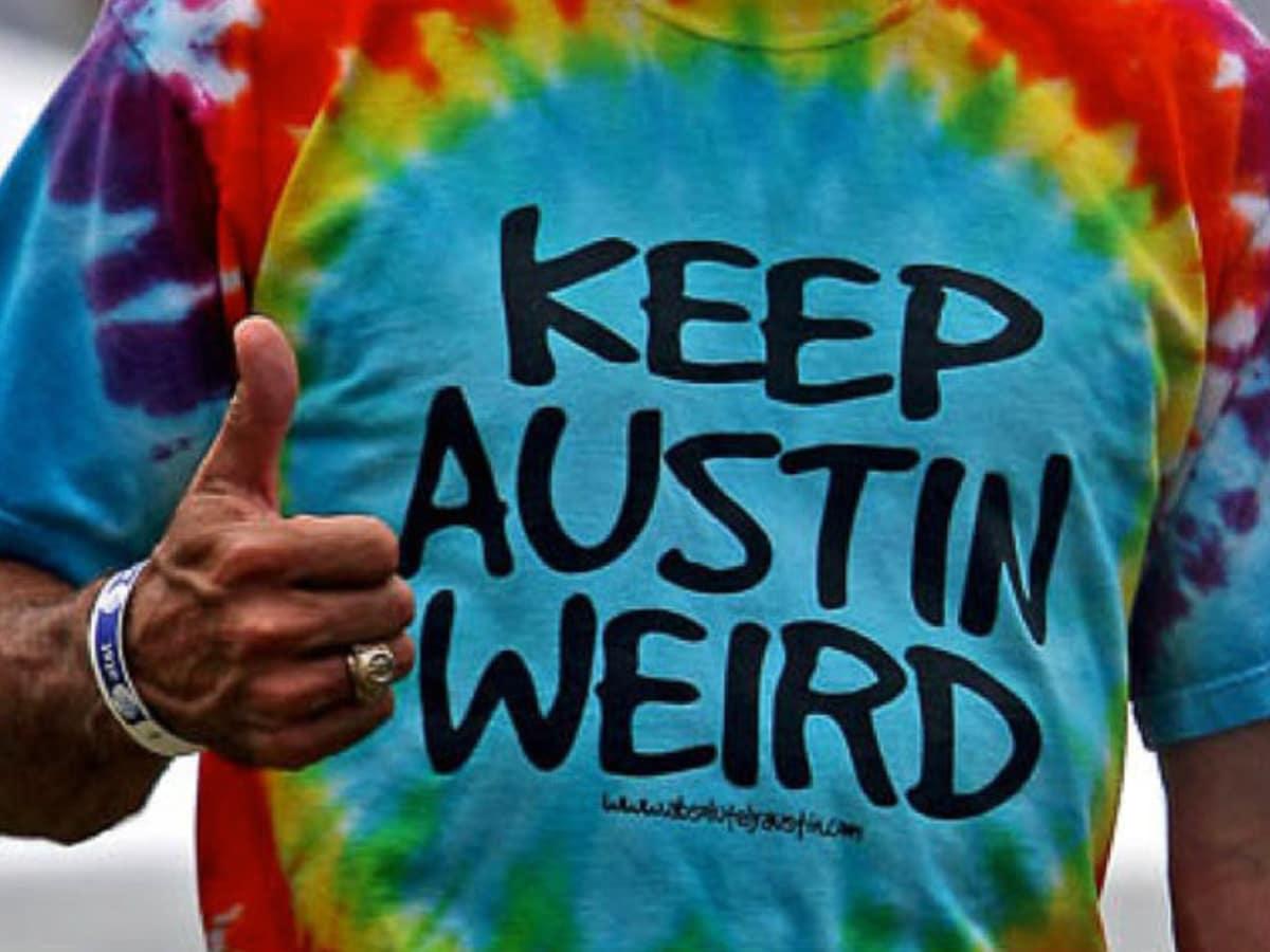 News_Keep Austin Weird_T-shirt