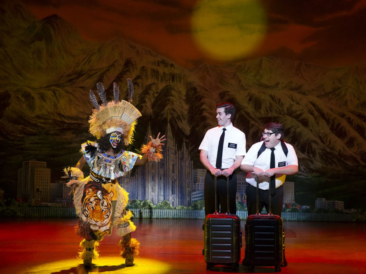 2017-2018 national tour of The Book of Mormon