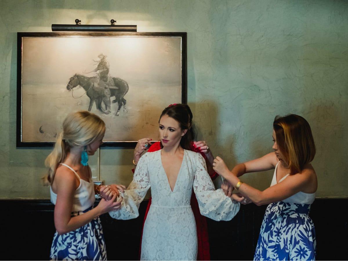 Charlotte English and Kyle Muennink west texas wedding
