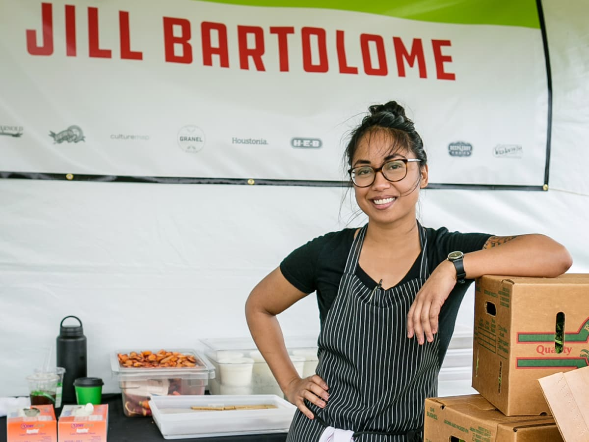 Jillian Bartolome Aqui pastry chef Chef Fest 2018