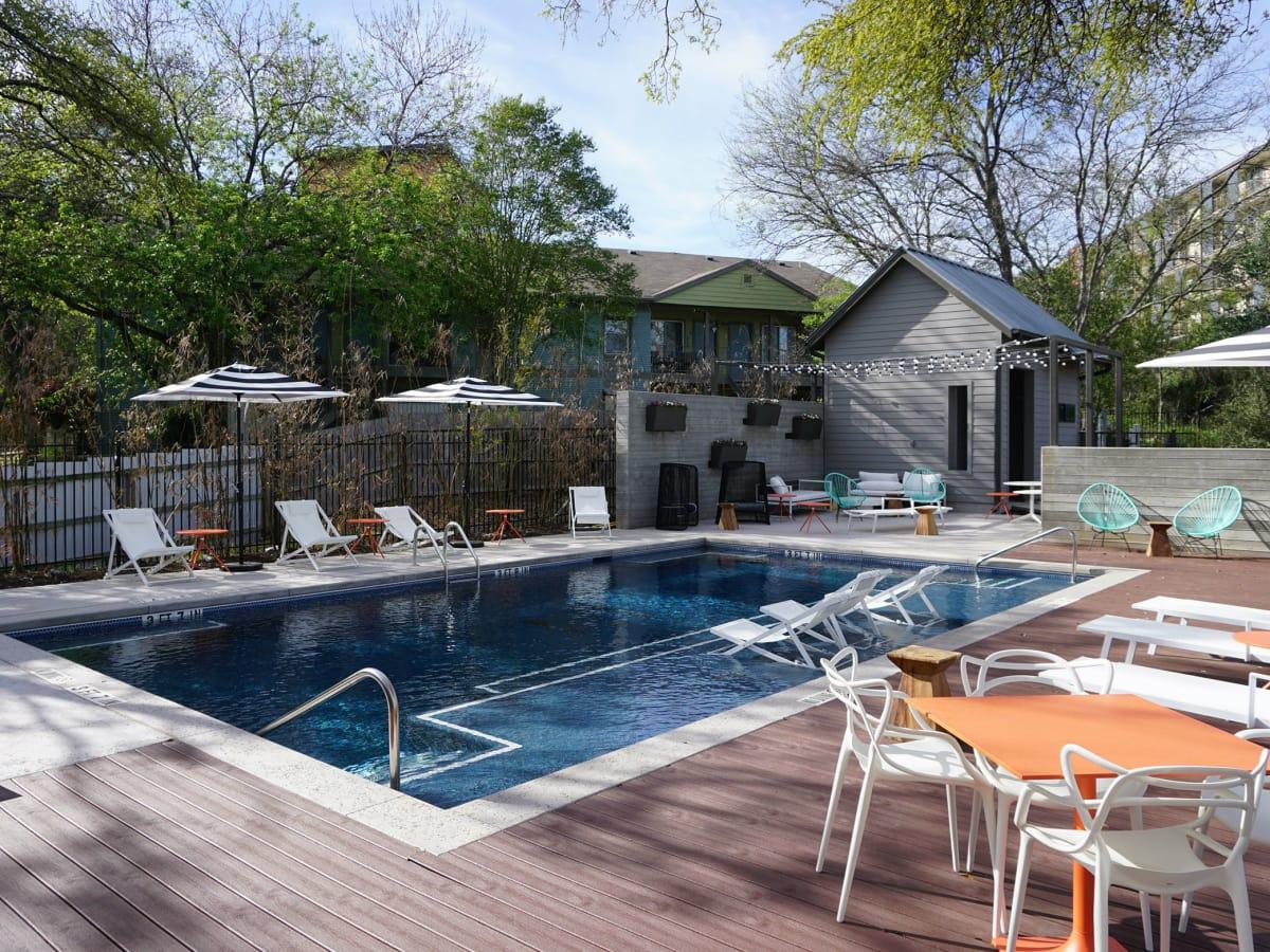 The LAAN residences pool