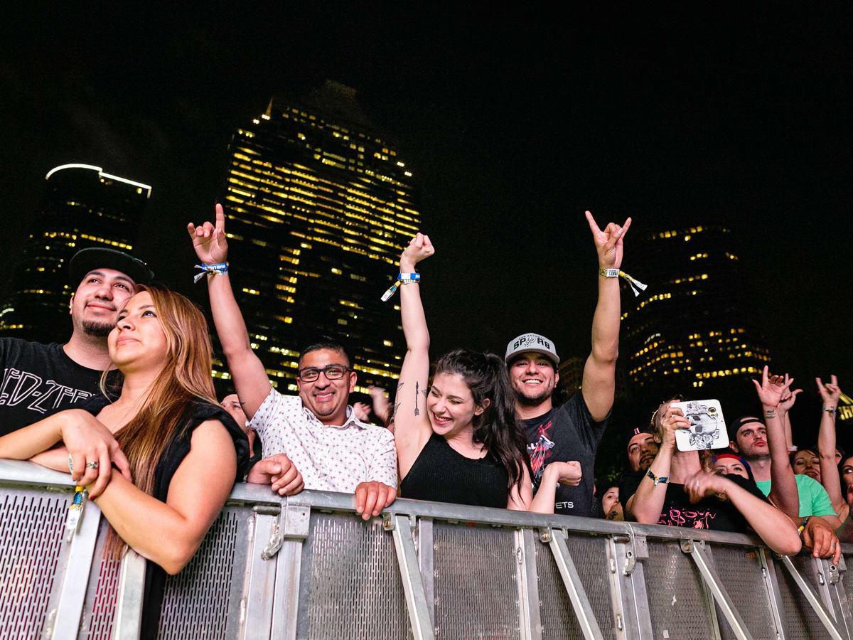 In Bloom recap crowd