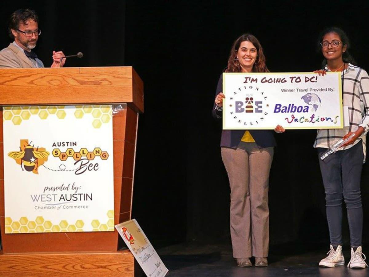Austin student Pranathi Jammula National Spelling Bee