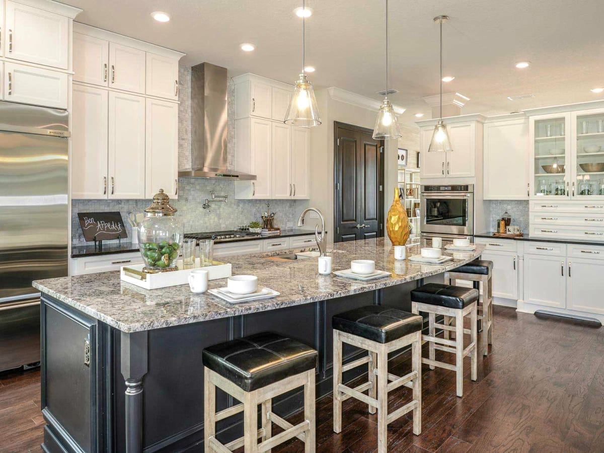 David Weekley homes interior kitchen
